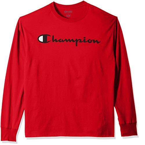 Champion 男子圆领套头长袖衫
