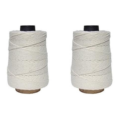 超赞!史低价!Regency Wraps 厨用 全棉 捆绑绳,500英尺/卷,共2卷