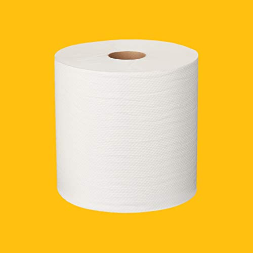AmazonCommercial Hard Roll Towels, 800' per Roll, 12 rolls