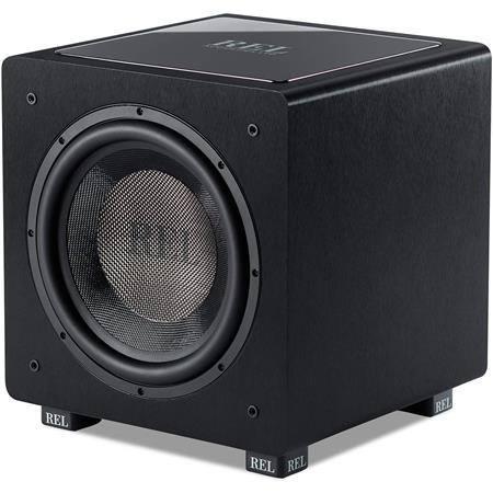 """Rel Acoustics Subwoofers: 12"""" 500W HT/1205 $449, 10"""" 300W HT/1003"""