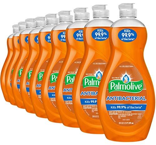 Palmolive 超强洁力抗菌洗碗液 600毫升 9瓶装