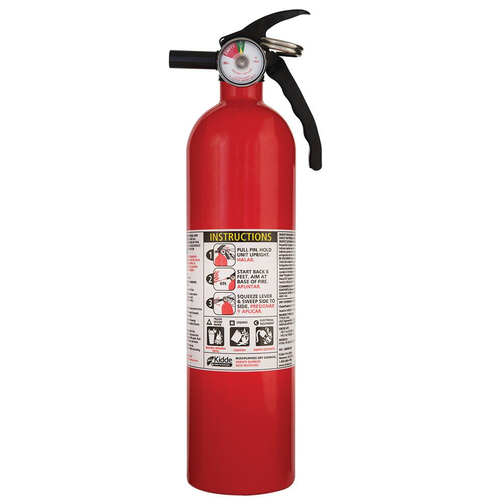 BJ's Members: 2-Pack Kidde 1A10BC Basic Use Fire Extinguishers