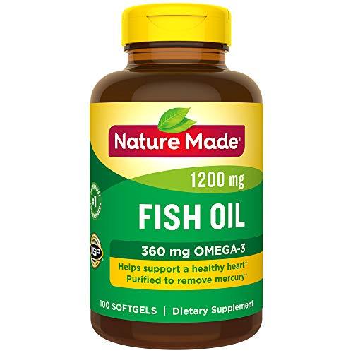 Nature Made鱼油Omega-3 1200mg,100粒