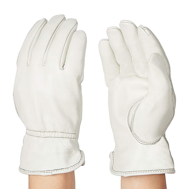 亚马逊自营劳保真皮手套,两色选