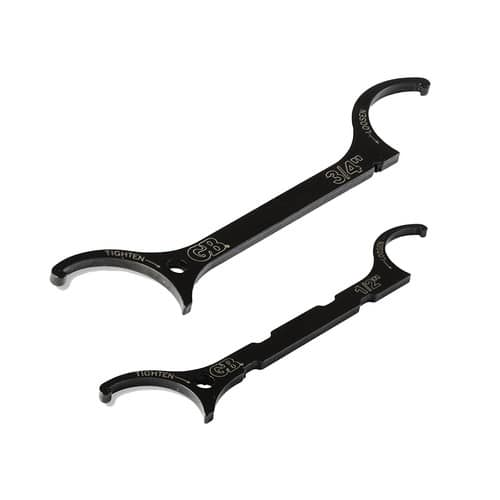 "2-Piece Gardner Bender Locknut Wrench Set (1/2"" + 3/4"")"