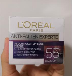 L'Oreal Paris欧莱雅 冻龄专家55+钙源 抗皱保湿面霜50ml