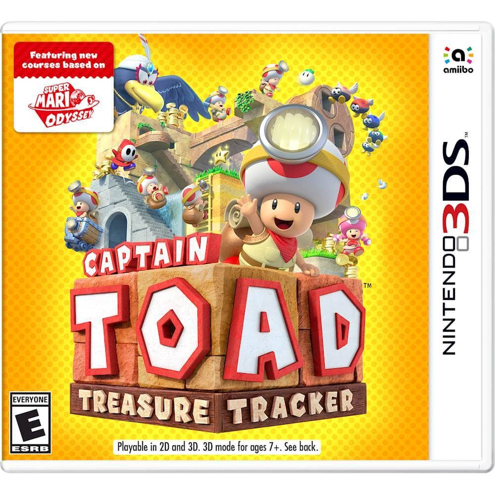 Nintendo 3DS Games: Captain Toad: Treasure Tracker, Kirby's Extra Epic Yarn