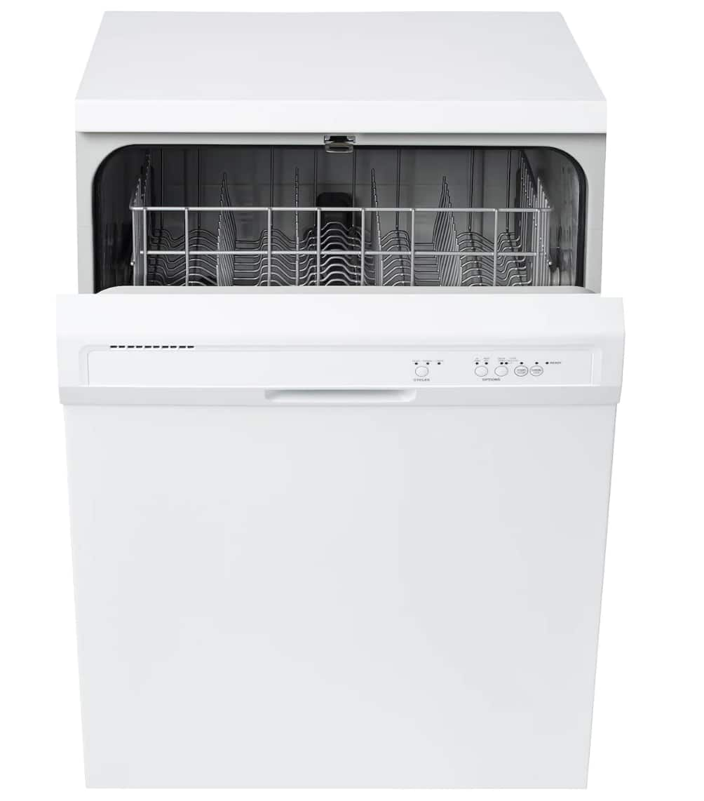 Select IKEA Stores: Lagan Built-in Dishwasher (White Gray)