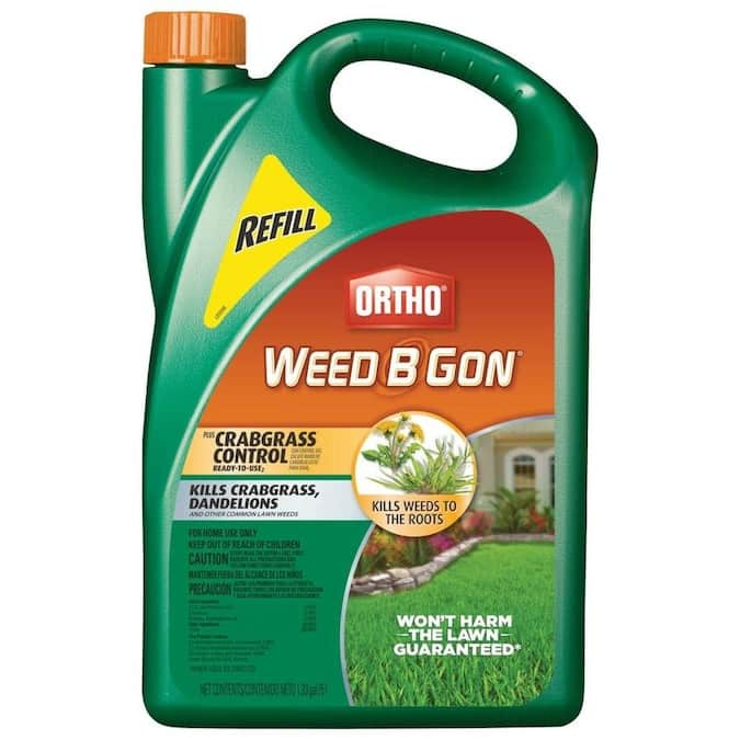 Select Lowe's Stores: ORTHO Weed B Gon Crabgrass Control: 170oz $5.25, 1-Gallon