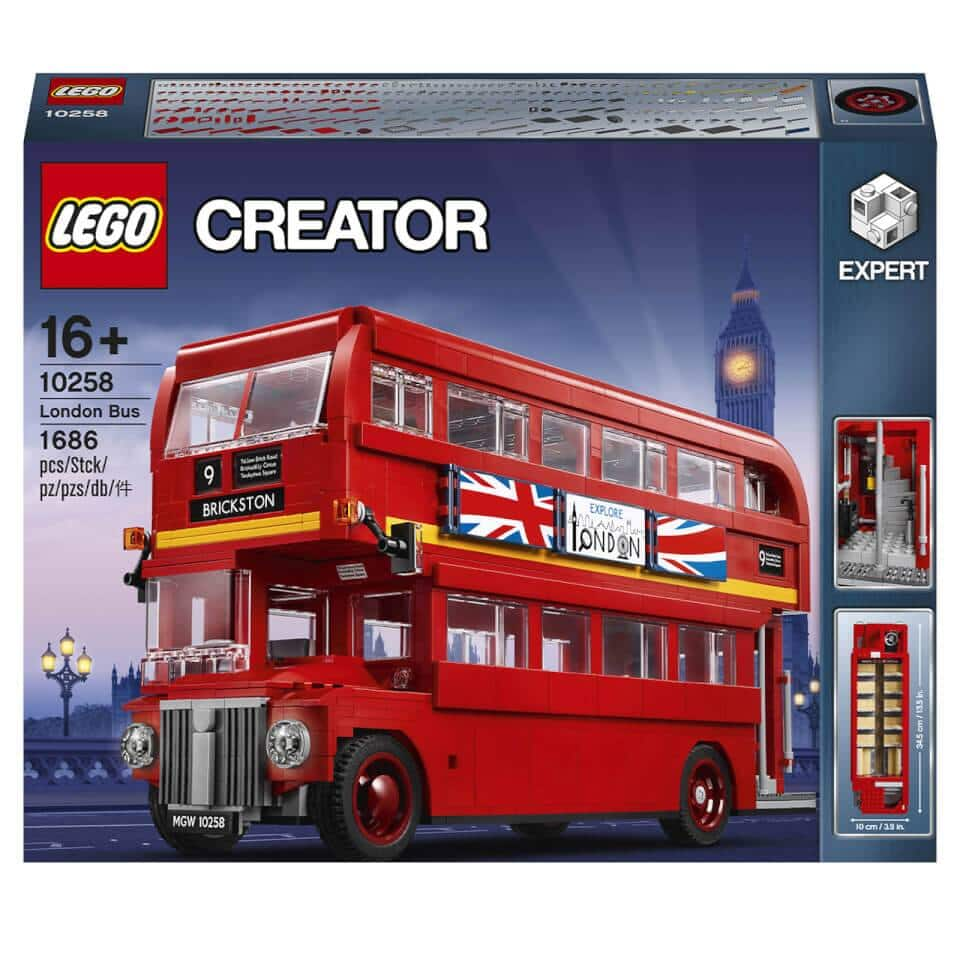 LEGO Creator Expert: London Bus Building Kit (1,686 Pieces)