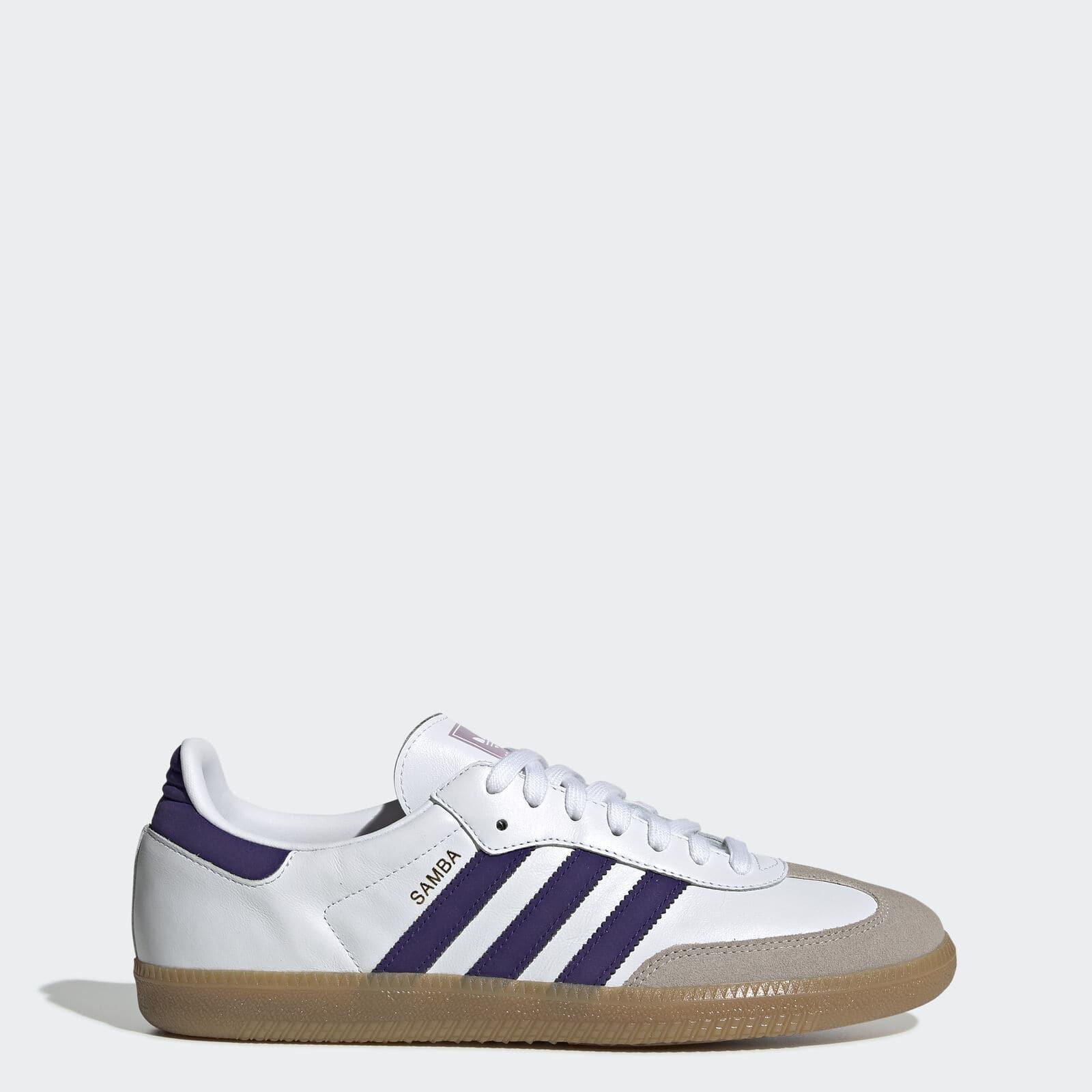 adidas Originals Men's Samba OG Shoes (White or Black)