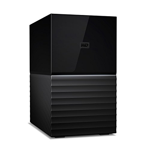 WD 6TB My Book Duo Desktop RAID External Hard Drive - USB 3.1 - WDBFBE0060JBK-NESN