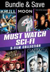 5-Movie Bundles (Digital HDX): Krull, Moon, Fifth Element, Gattaca, Starship Troopers