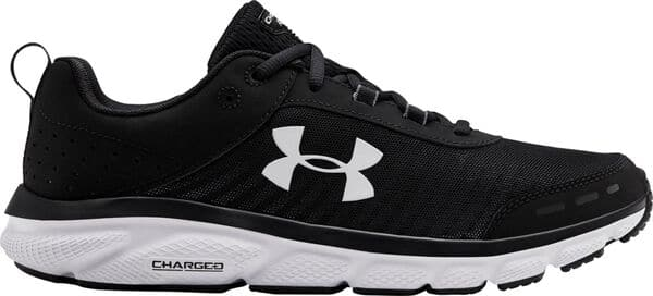 Under Armour Men's Charged Assert 8 Running Shoes (Black)