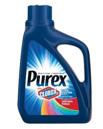 44-oz Purex w/ Clorox2 Liquid Laundry Detergent