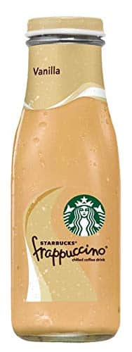 15-Count of 9.5oz Starbucks Frappuccino Coffee Drink (Vanilla)
