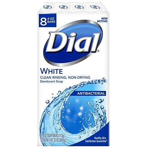 Dial 抗菌去味香皂,4 oz/块,8块
