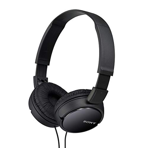 Sony MDRZX110/BLK ZX Series Stereo Headphones (Black)