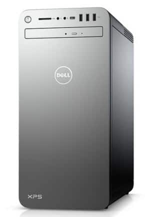 Dell XPS 8930 Desktop: i7-9700, 16GB DDR4, 2TB SSD, RTX 2080 Super 8GB
