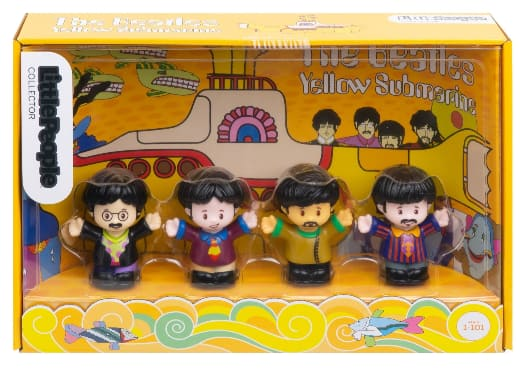 4-Piece Little People Figures: The Beatles Yellow Submarine