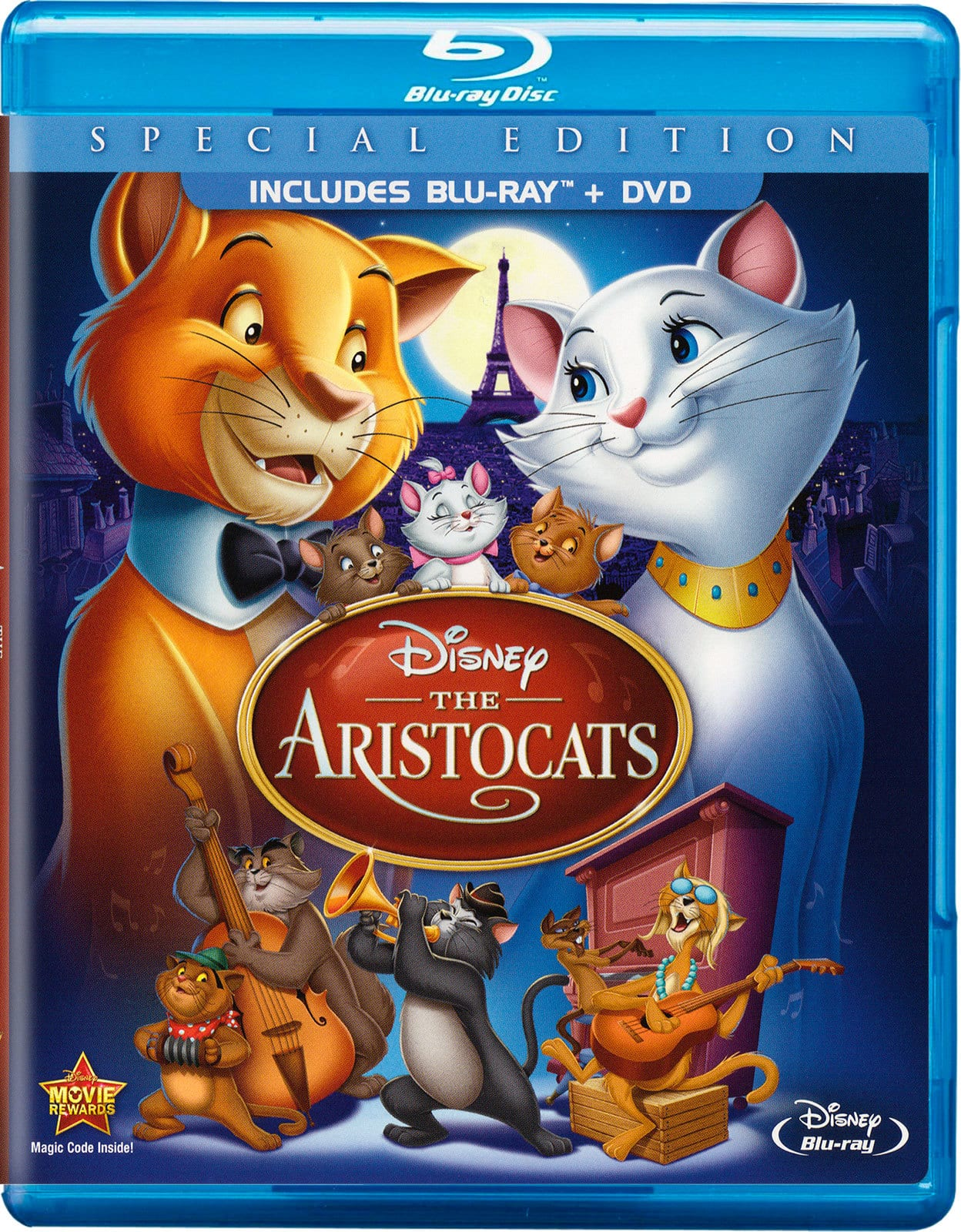 Disney Blu-Ray Films: Robin Hood (1973), Enchanted or Aristocats