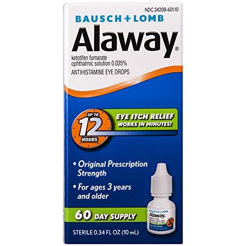 史低价!Bausch & Lomb博士伦Alaway 抗过敏眼药水,10ml