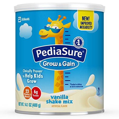 史低价! Pediasure Grow &Gain 雅培小安素助成长营养乳饮,14.1 oz/罐,共3罐
