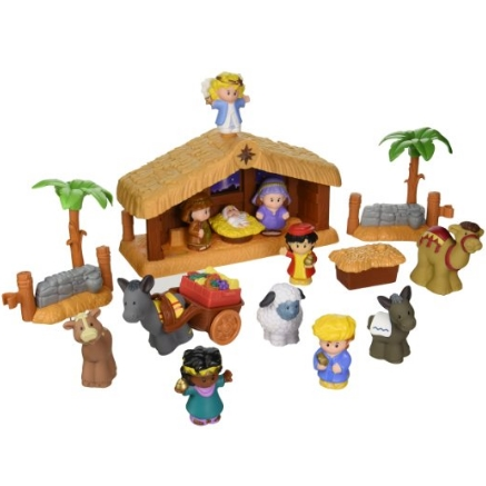 Fisher-Price费雪Little People A Christmas Story玩具