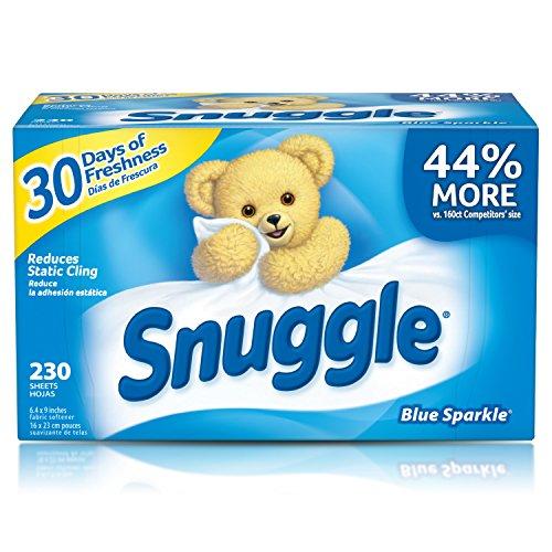 史低价!Snuggle Fabric Softener 清香烘干纸,230张
