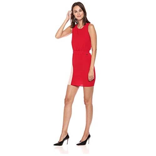 A|X Armani Exchange Women's Color Blocked Stripe Dress