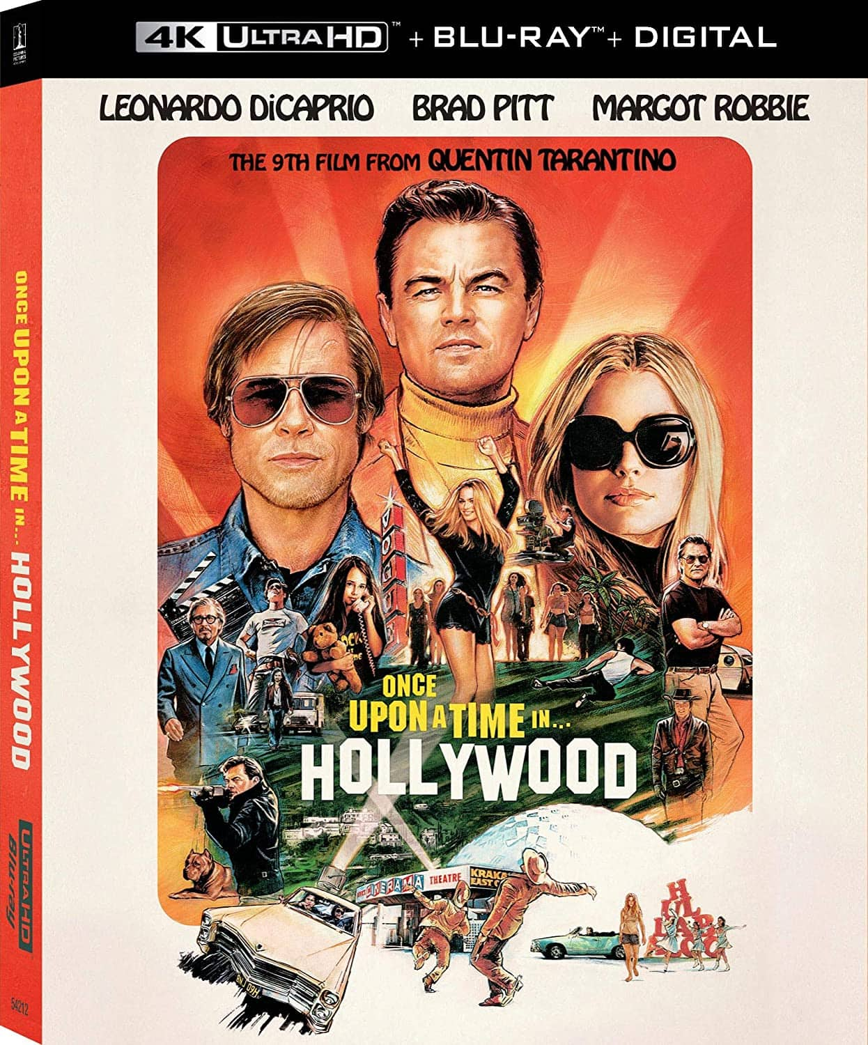 Once Upon a Time in Hollywood (4K UHD + Blu-ray + Digital)