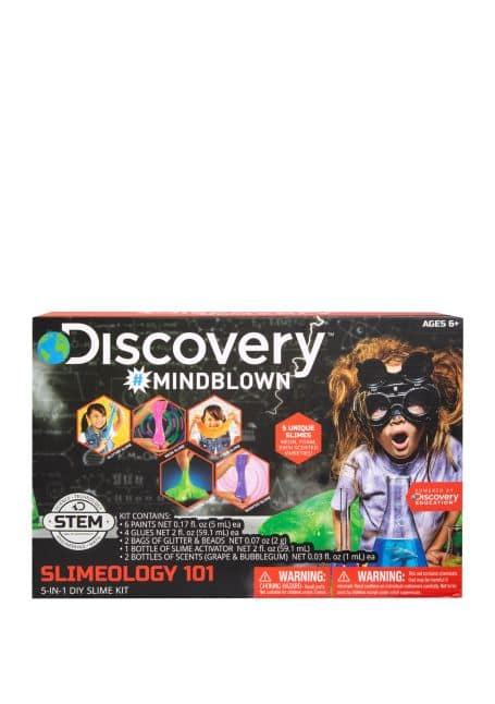 Discovery Kids: Toy Sketcher Projector or STEM 5-in-1 DIY Slime Kit