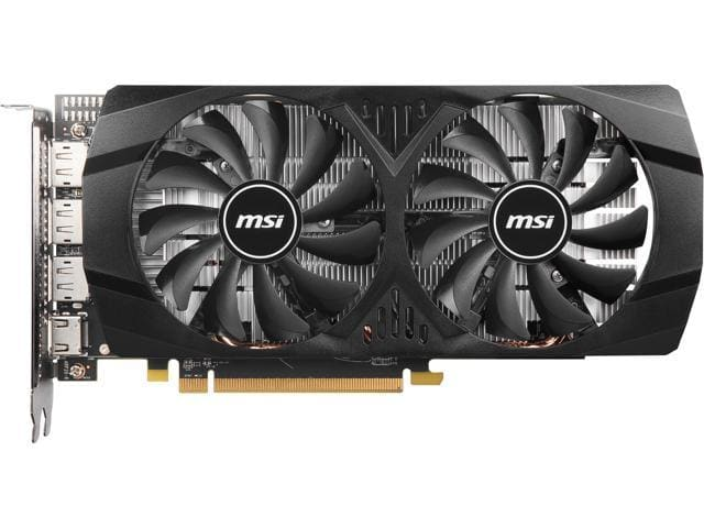 MSI Radeon RX 580 8GT 8GB GDDR5 PCIe Video Card