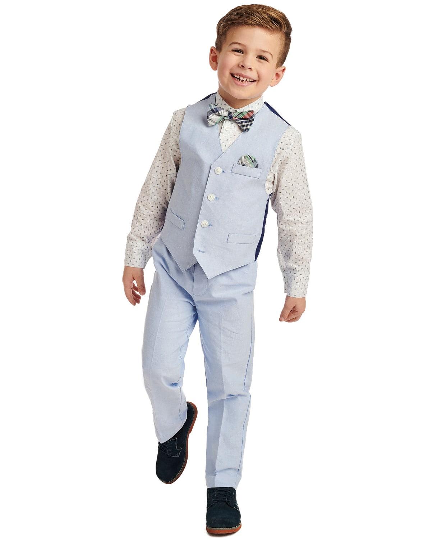 4-Piece Nautica Toddler Boys' & Little Boys' Vest Sets (various, 2T or 3T)