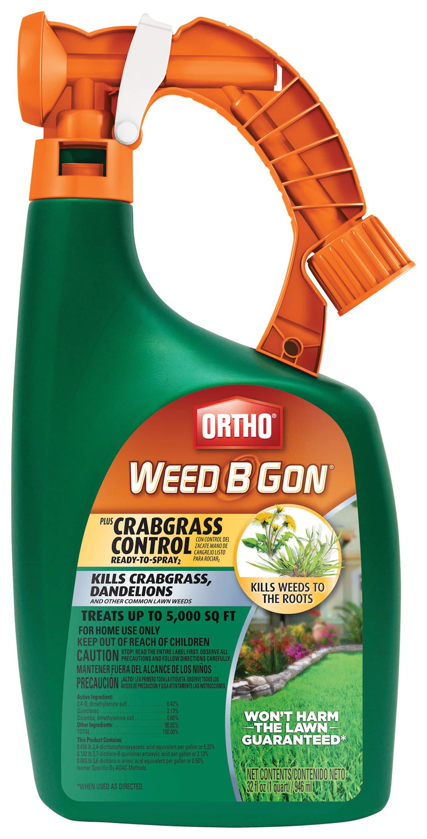 32oz Ortho Weed-B-Gon Ready-To-Spray Plus Crabgrass Control