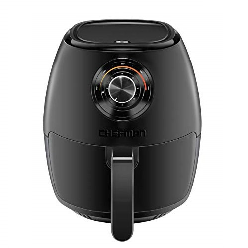 Chefman TurboFry 3.6 Quart Air Fryer Oven w/ Dishwasher Safe Basket and Dual Control Temperature