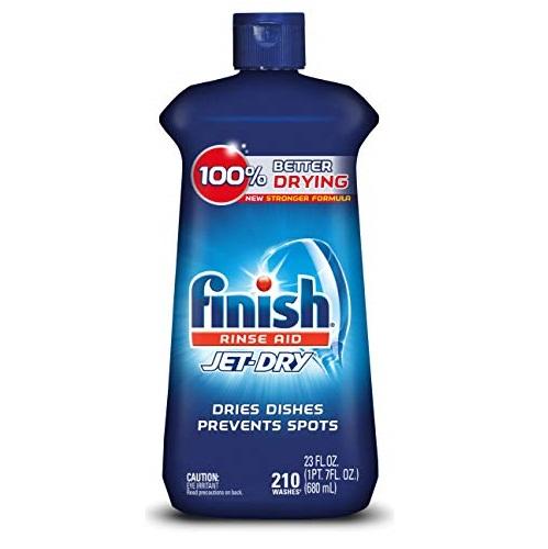 Finish Jet-Dry 洗碗机快干光洁剂,23 oz