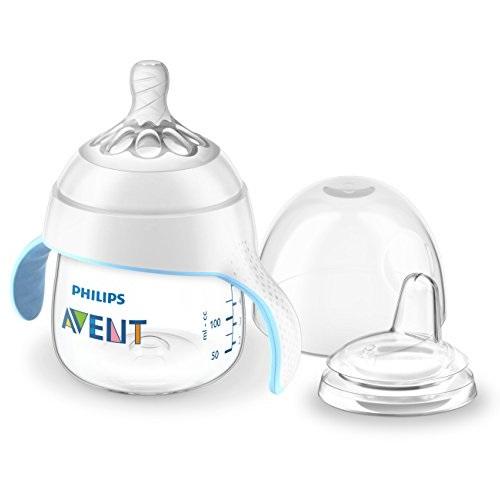 史低价!Philips Avent 新安怡1段过渡学饮杯,5盎司,4个月以上宝宝适用