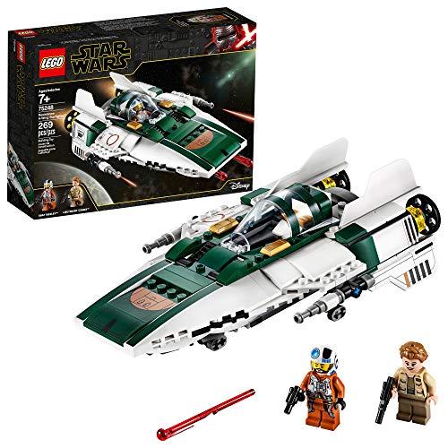 LEGO 乐高Star Wars星球大战系列75248 反抗军A翼星际战机
