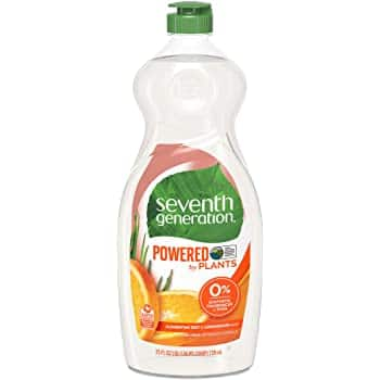 6-Pack 25oz Seventh Generation Dish Liquid Soap (Various Scents)