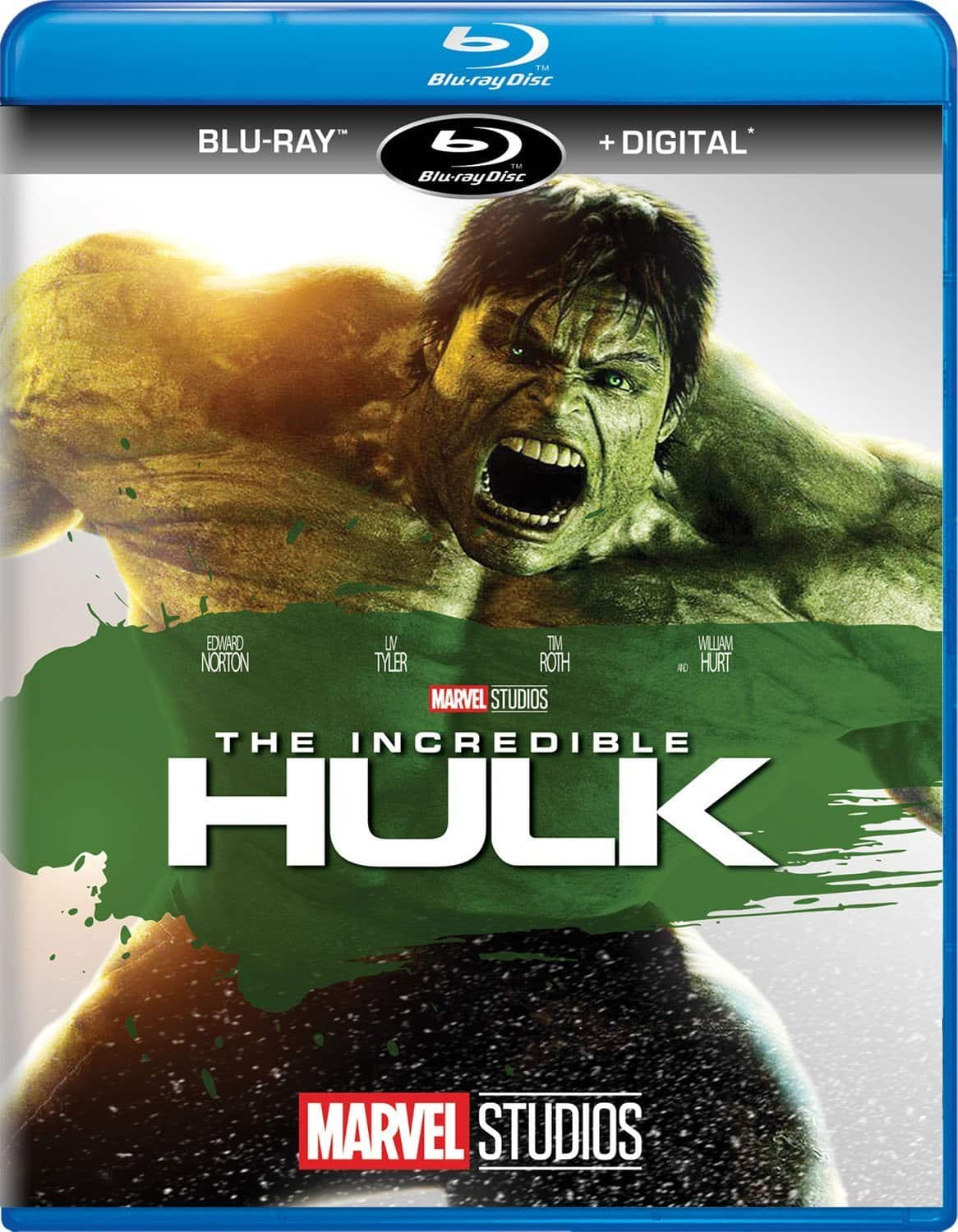 Marvel The Incredible Hulk (Blu-ray + Digital)
