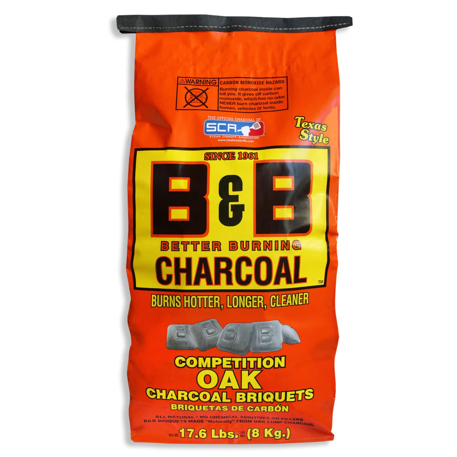 17.6-lb  B&B Charcoal All Natural Oak Hardwood Charcoal Briquettes