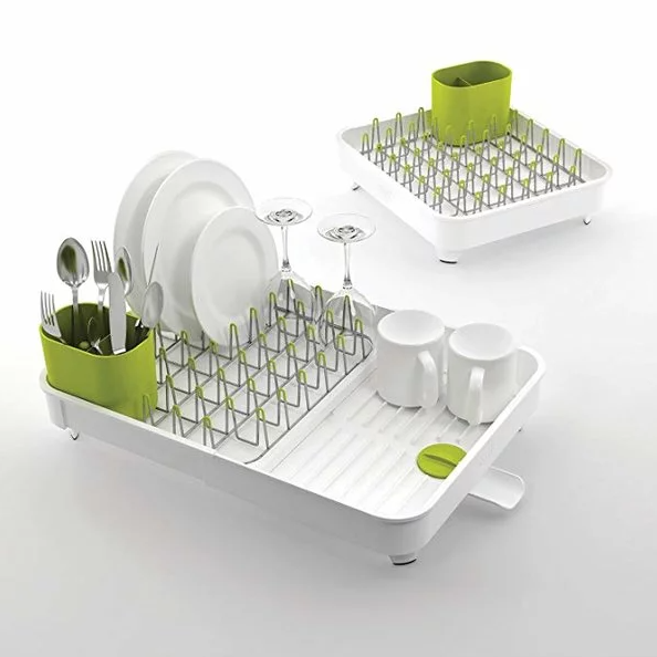 Joseph Joseph 85071 Extend Expandable Dish Drying Rack and Drainboard Set