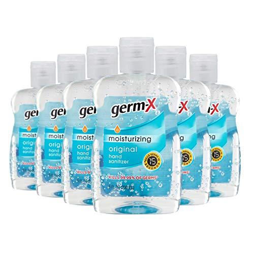 手慢无!Germ-X 除菌干洗手液,8 oz/瓶,共6瓶