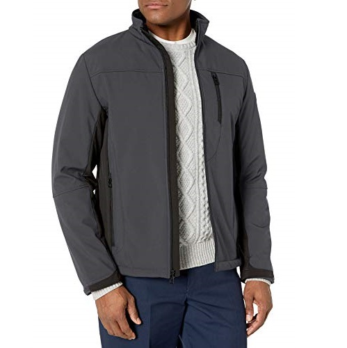 TUMI Men's Stretch Soft Shell Jacket
