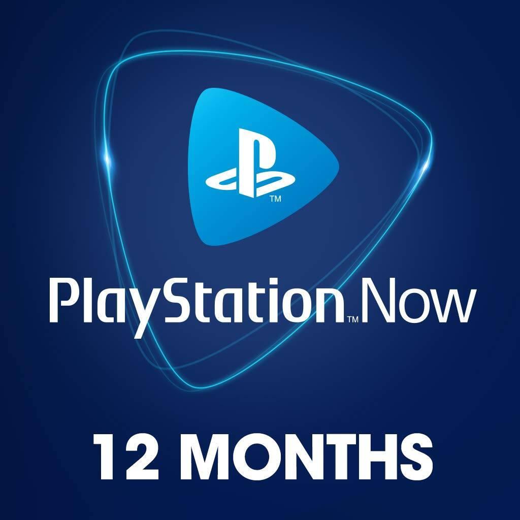 12-Month PlayStation Now Cloud Gaming Subscription for PS4 / PC (Digital Code)