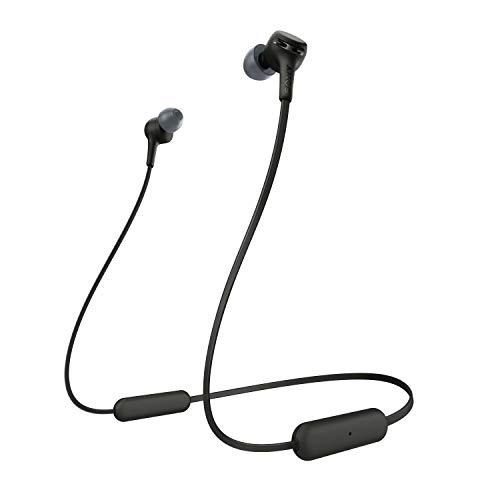 Sony Wi-Xb400 Wireless In-Ear Extra Bass Headphones, Black (WIXB400/B)