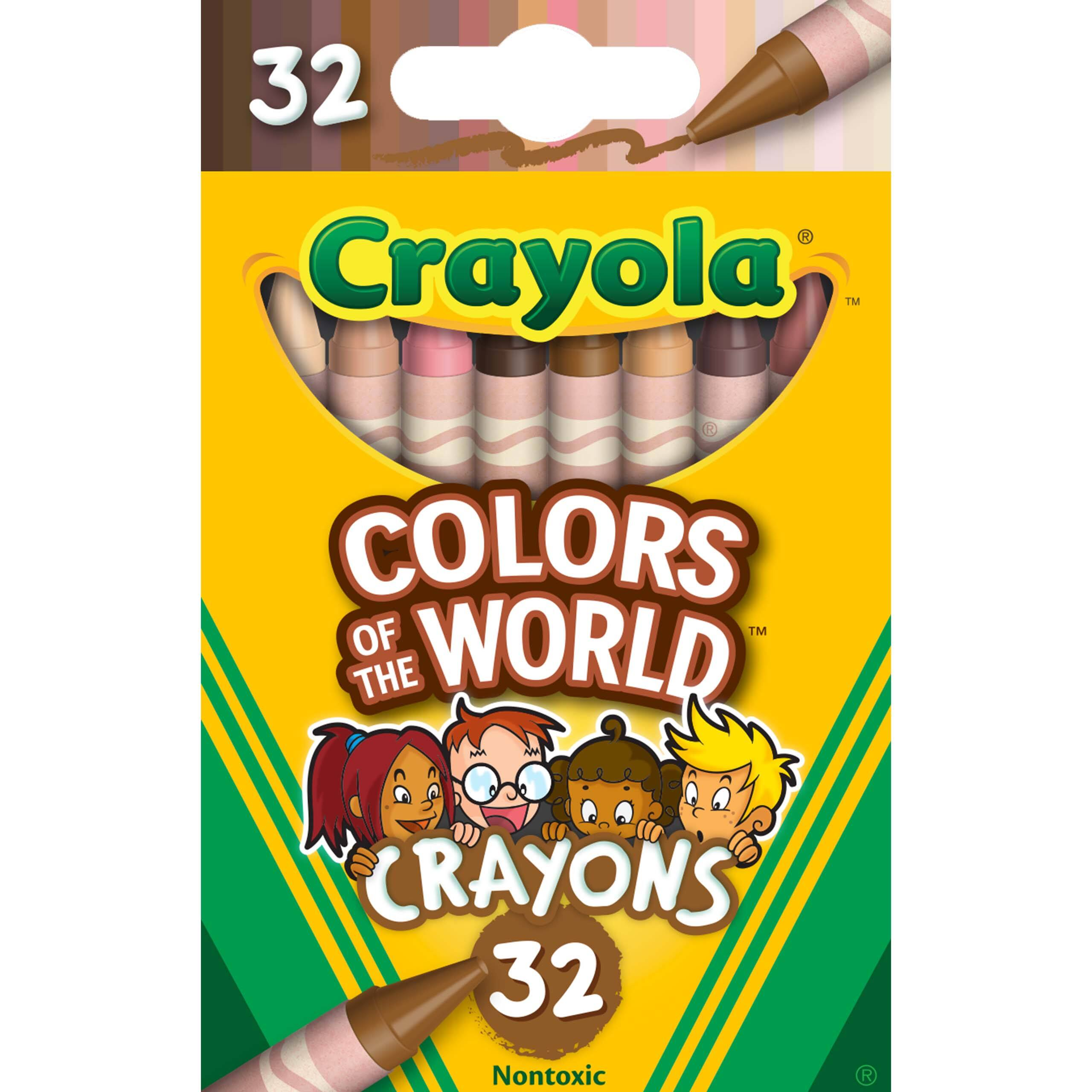 32-Count Crayola Colors of the World Crayons Pre-Order