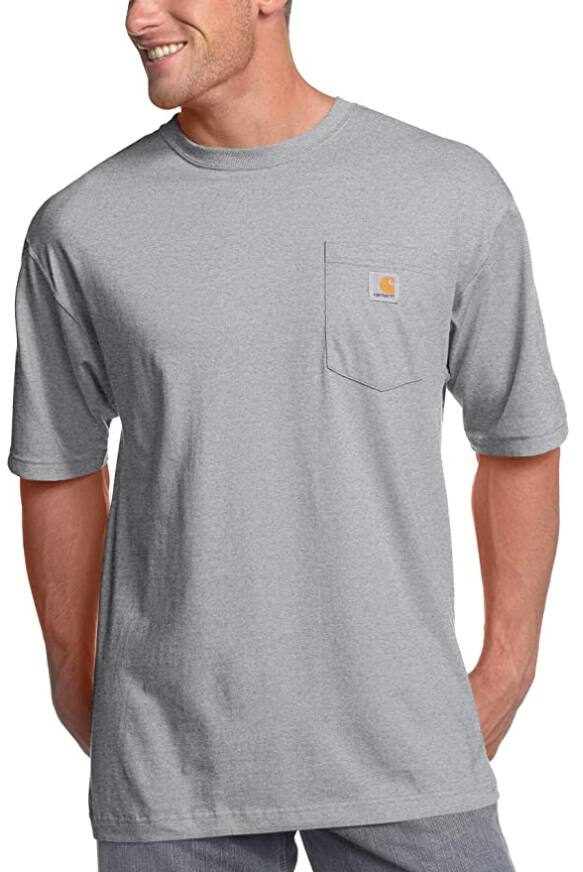Carhartt Men's K87 Workwear Pocket Short Sleeve T-Shirt (Various)