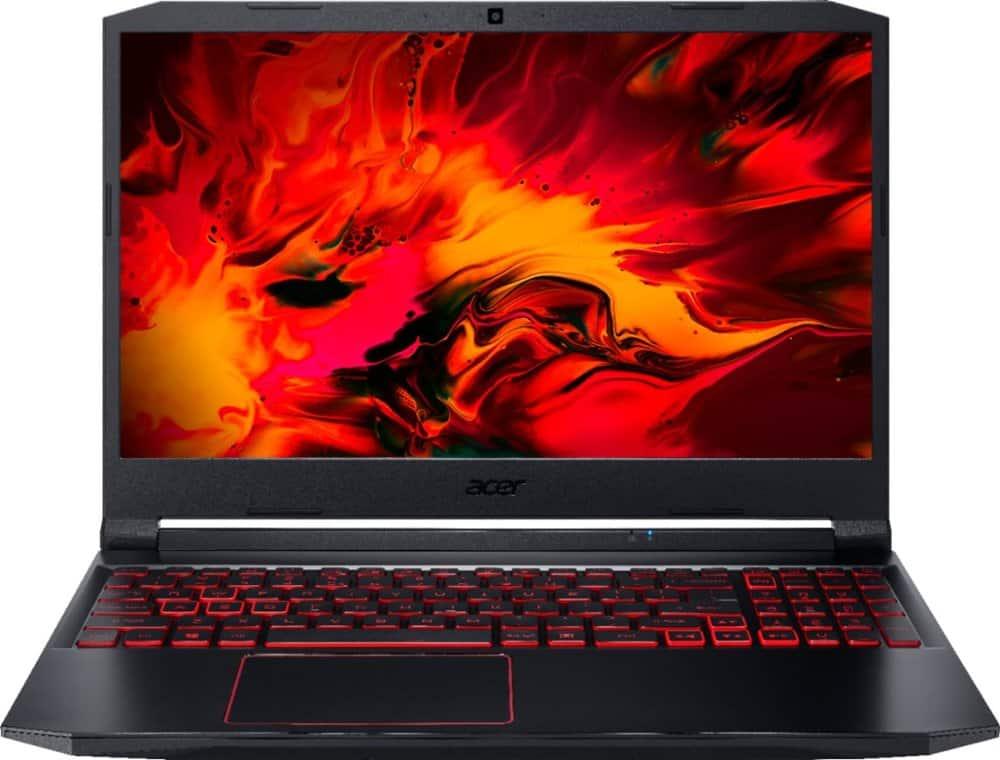 """Acer Nitro 5 15.6"""" Laptop: Ryzen 5 4600H, 256GB PCIe SSD, GTX 1650 GPU"""